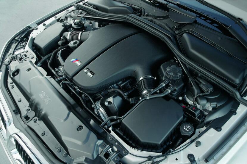The BMW S85 V10 engine 10 830x554