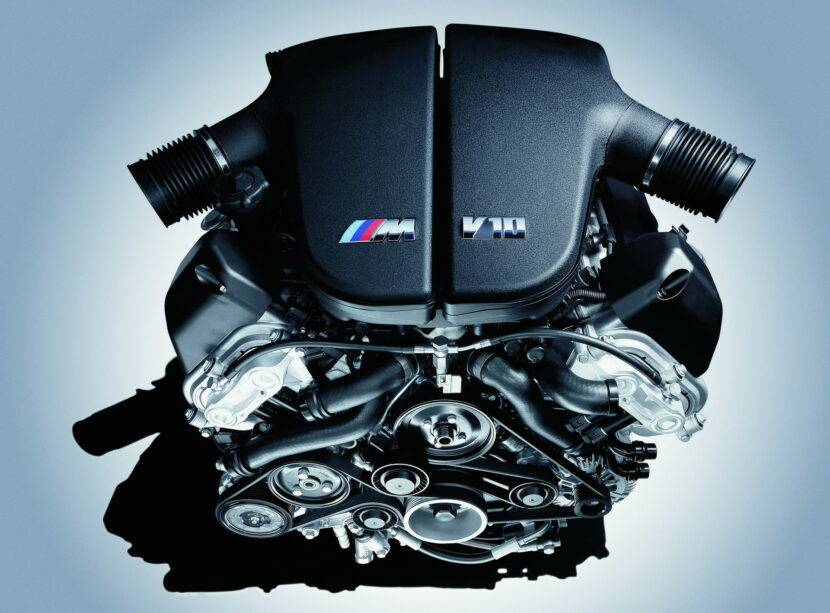 The BMW S85 V10 engine 11 830x613