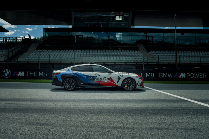 The New BMW M8 Gran Coupe MotoGP Safety Car F93 12 830x553