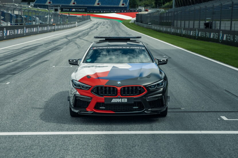 The New BMW M8 Gran Coupe MotoGP Safety Car F93 14 830x553