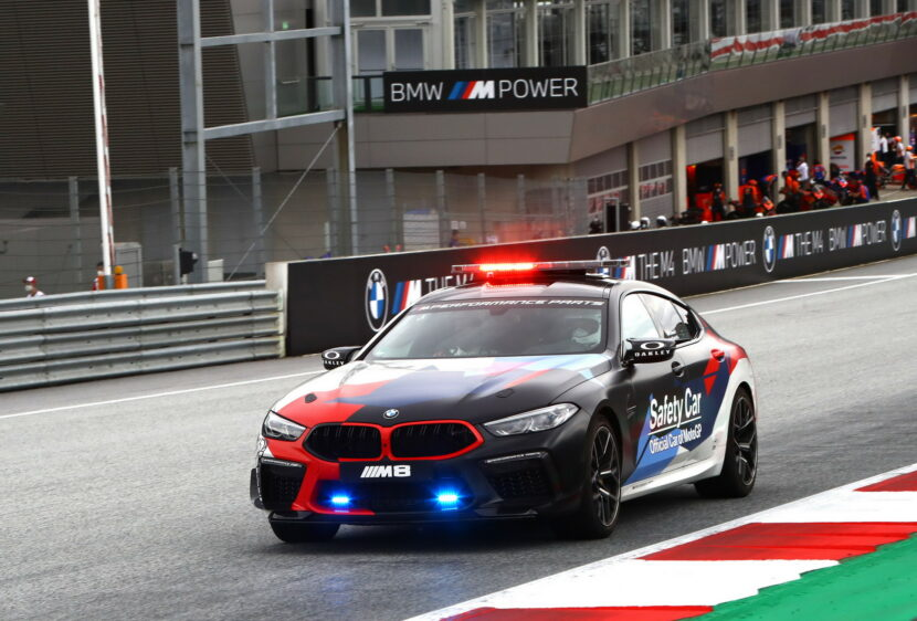 The New BMW M8 Gran Coupe MotoGP Safety Car F93 16 830x562