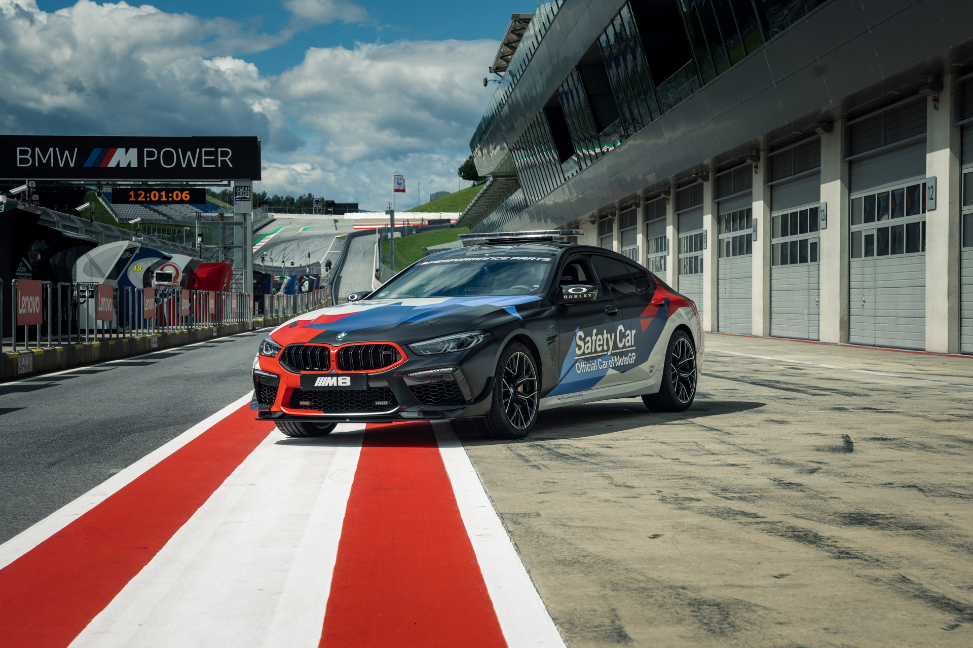The New BMW M8 Gran Coupe MotoGP Safety Car F93 6