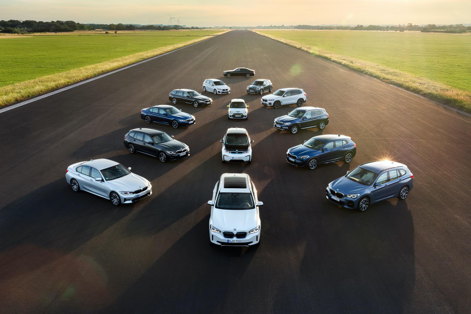 bmw electric fleet 00