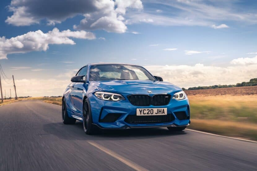 Video: Here's the BMW M2 CS going all out on the Autobahn