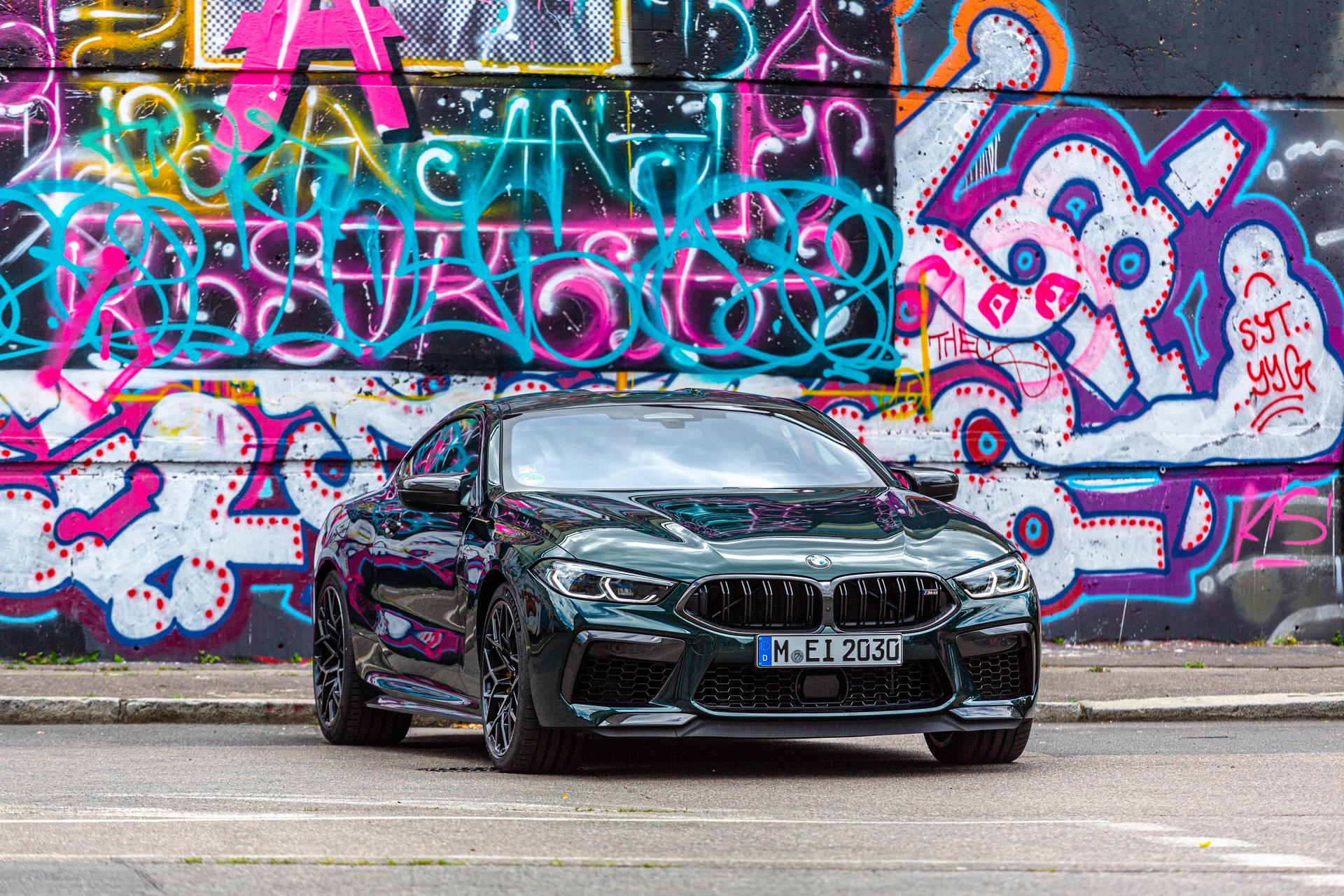 2020 bmw m8 competition oxford green 00