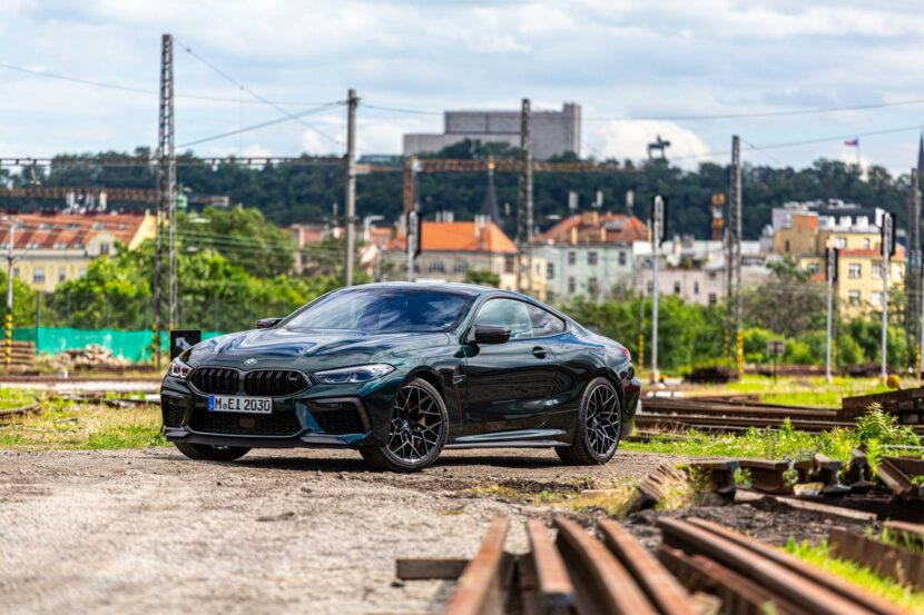 2020 bmw m8 competition oxford green 20 830x553