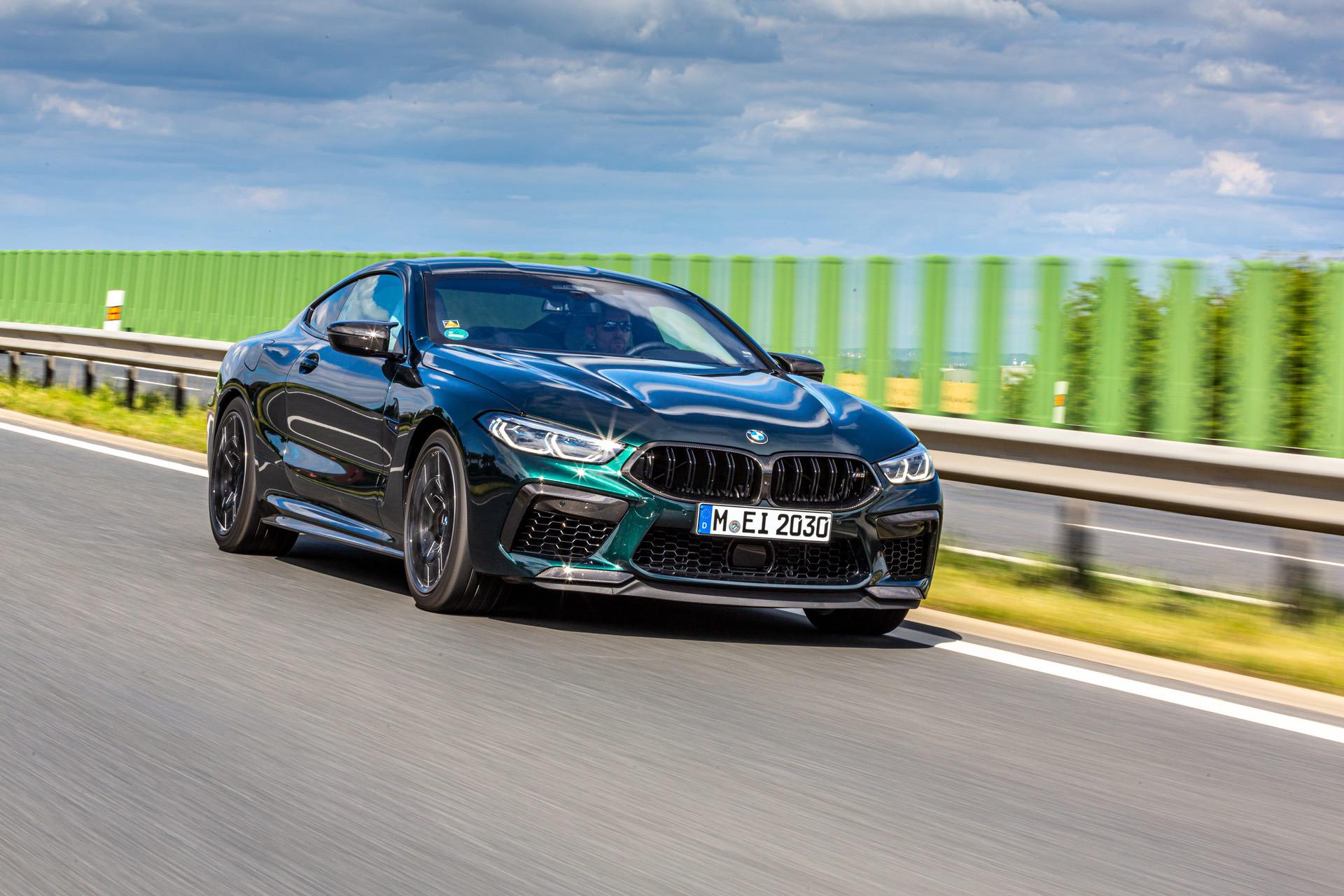 2020 bmw m8 competition oxford green 30