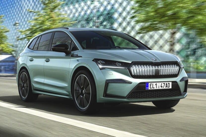 2021 Skoda Enyaq iV Elektro SUV BMW Niere 01 830x553