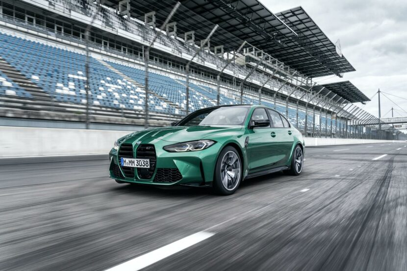 2021 bmw m3 competition race track 11 830x553
