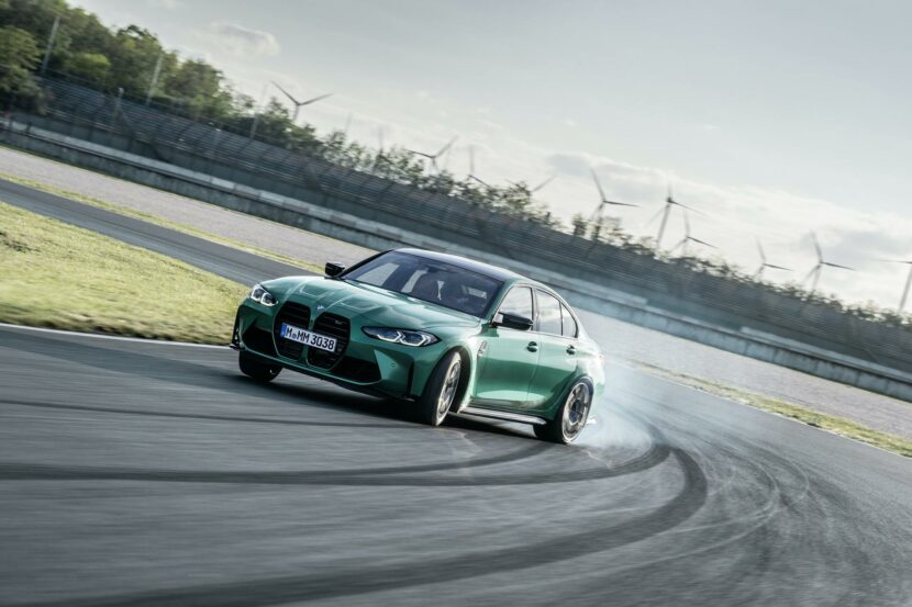 2021 bmw m3 competition race track 26 830x553