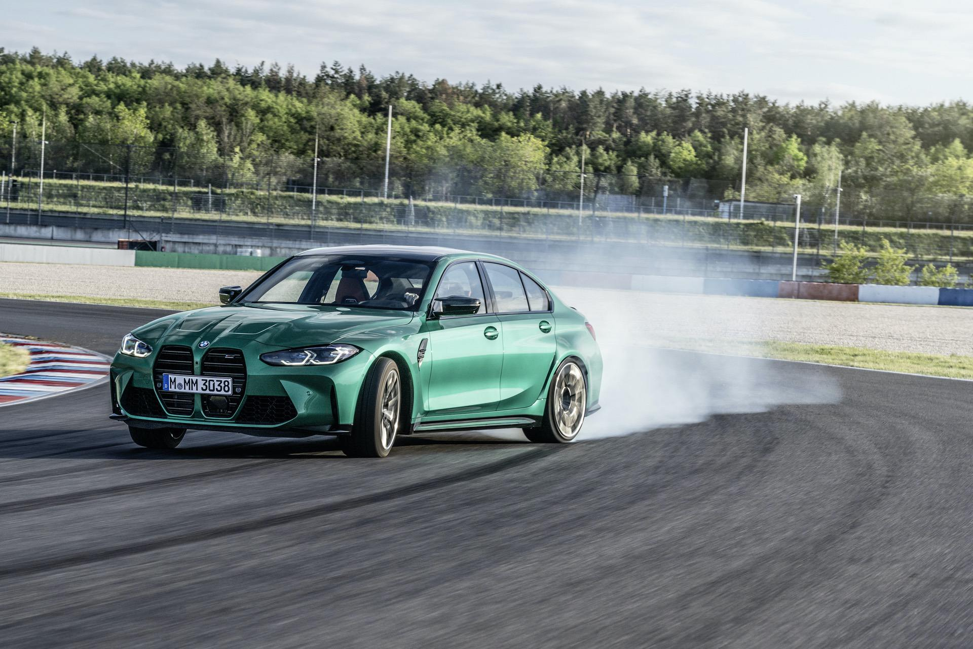 2021 bmw m3 competition race track 27