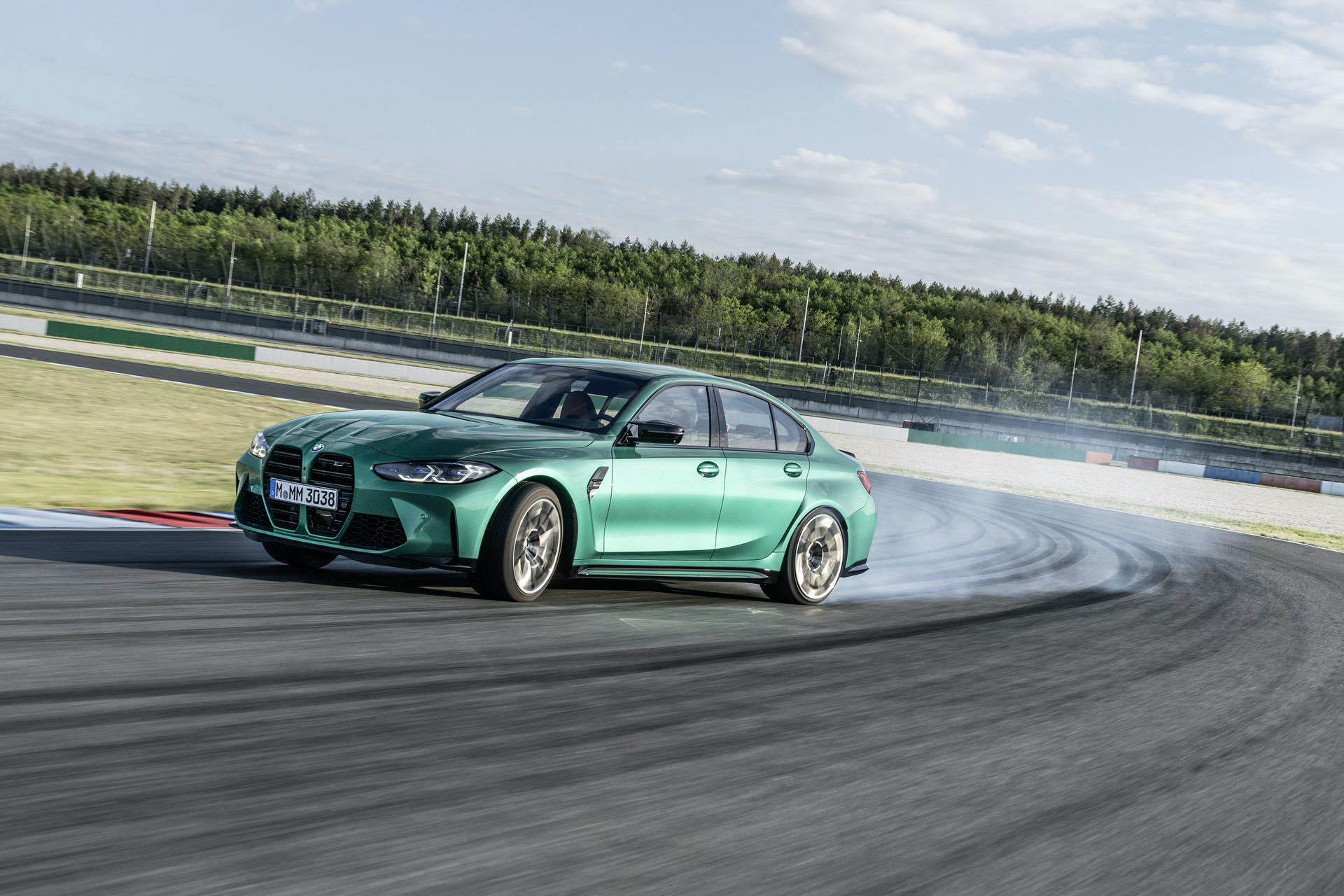 2021 bmw m3 competition race track 28