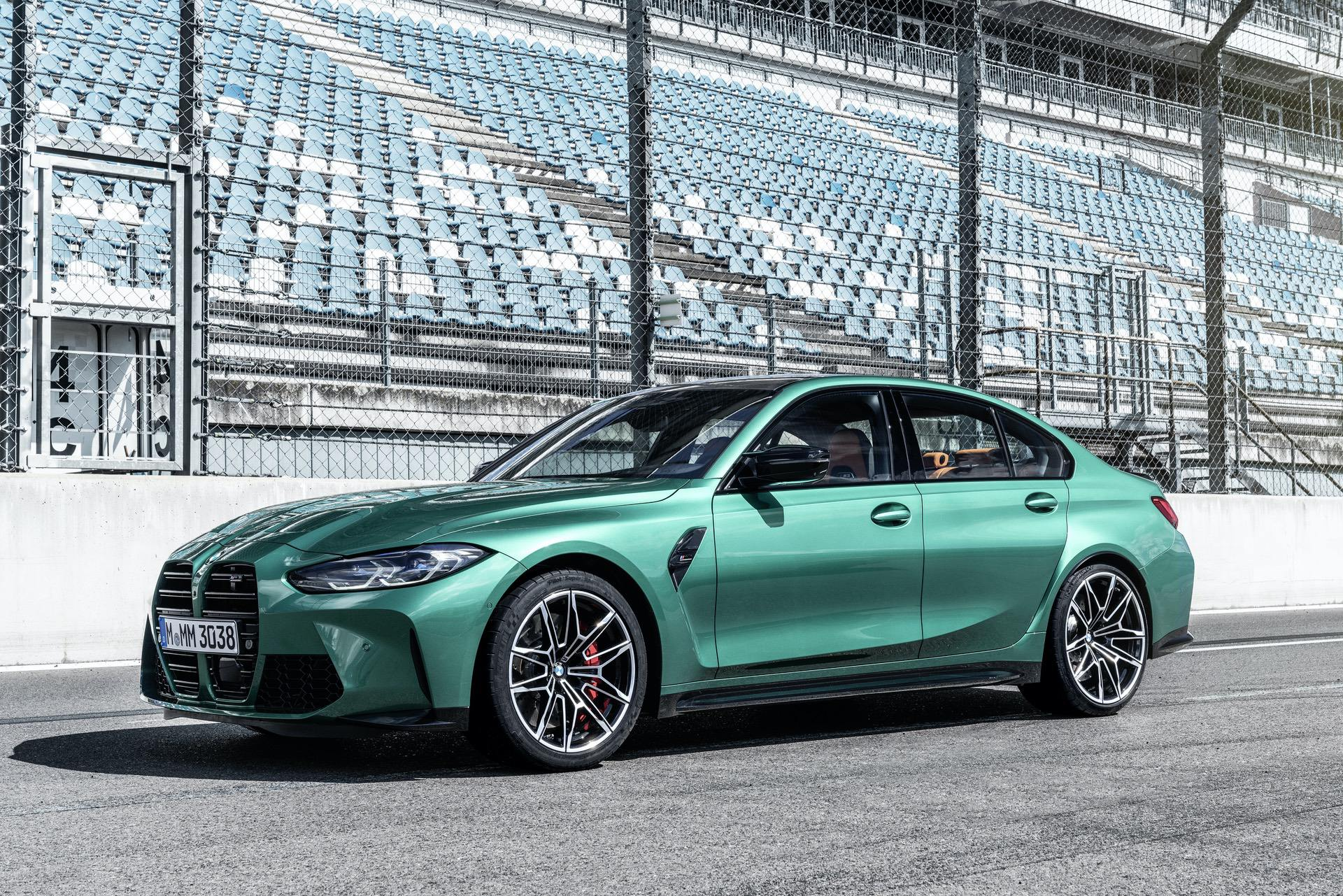 2021 bmw m3 competition race track 34