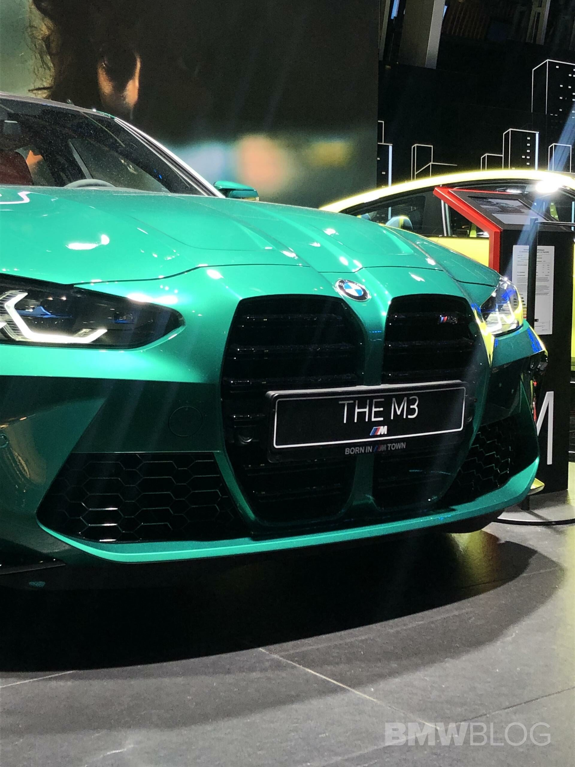 2021 bmw m3 green g80 02 rotated