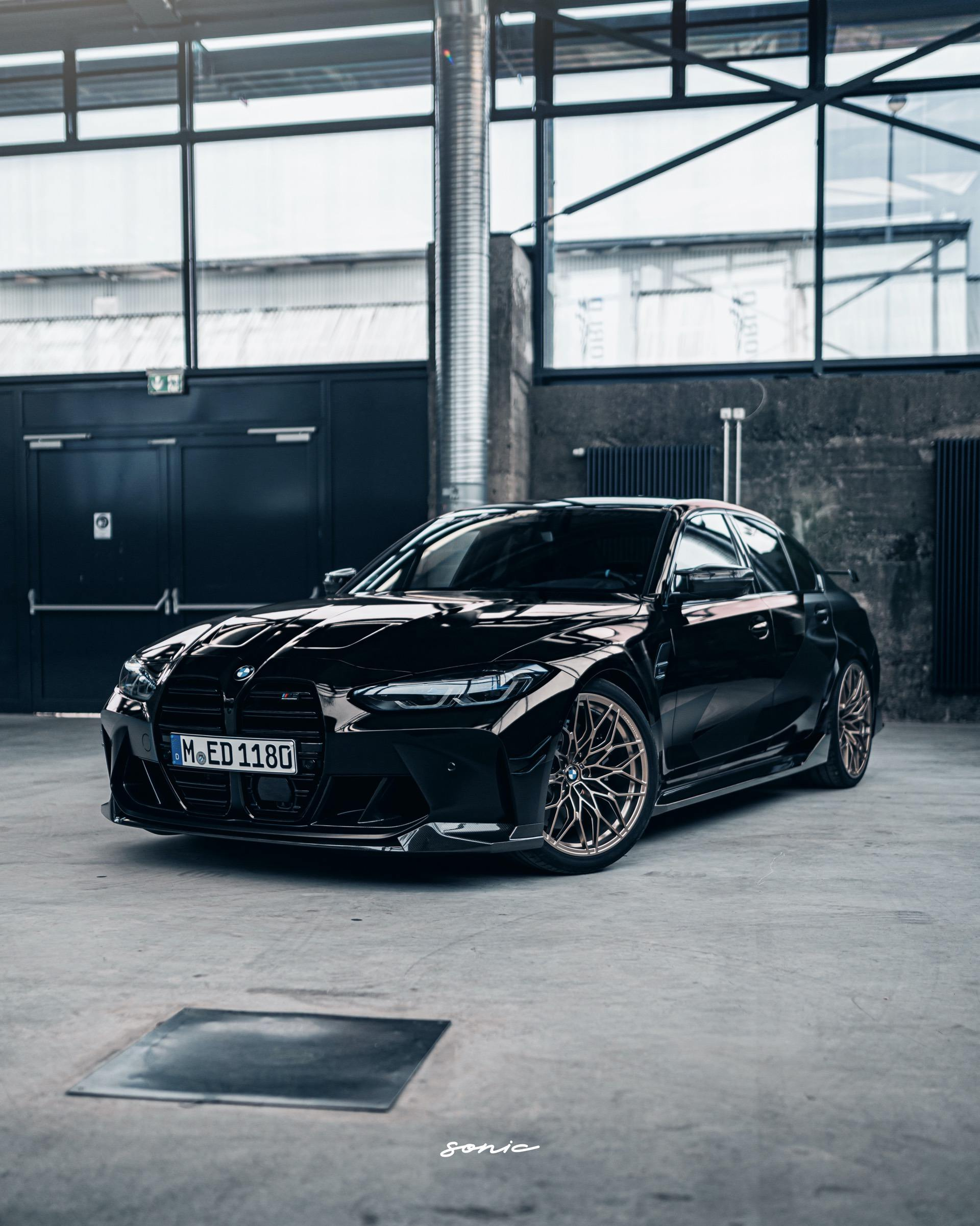 See the G80 BMW M3 with M Performance Parts in Black