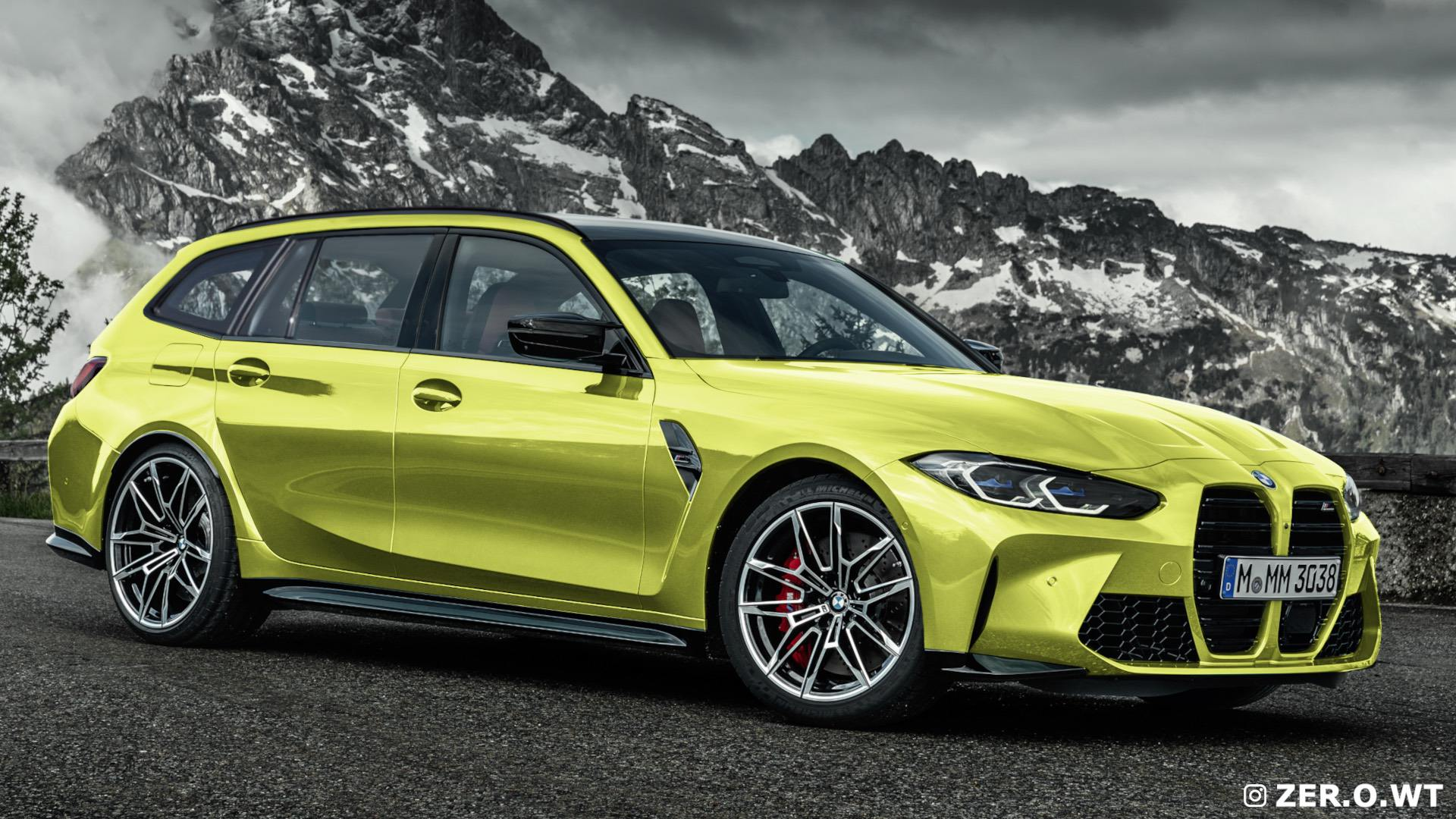 2025 bmw m3 touring renderings 13