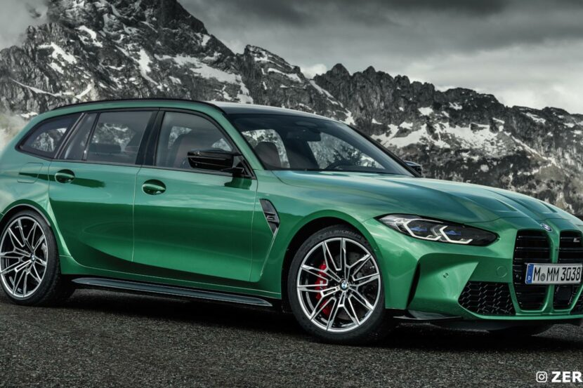 BMW M3 Touring Likely to be Automatic and xDrive-Only