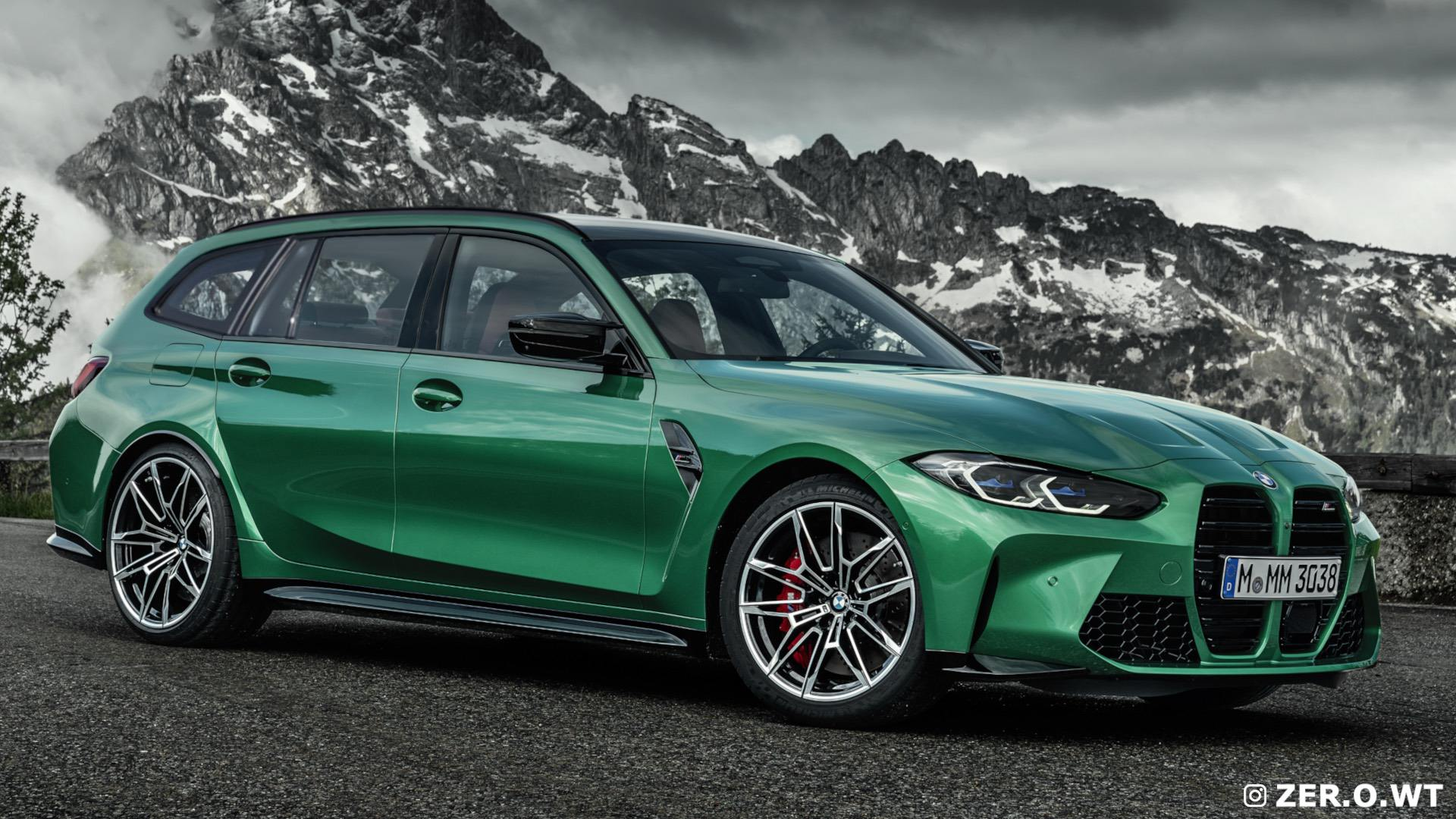 the future bmw m3 touring gets new renderings after the m3 unveil mimic news the future bmw m3 touring gets new