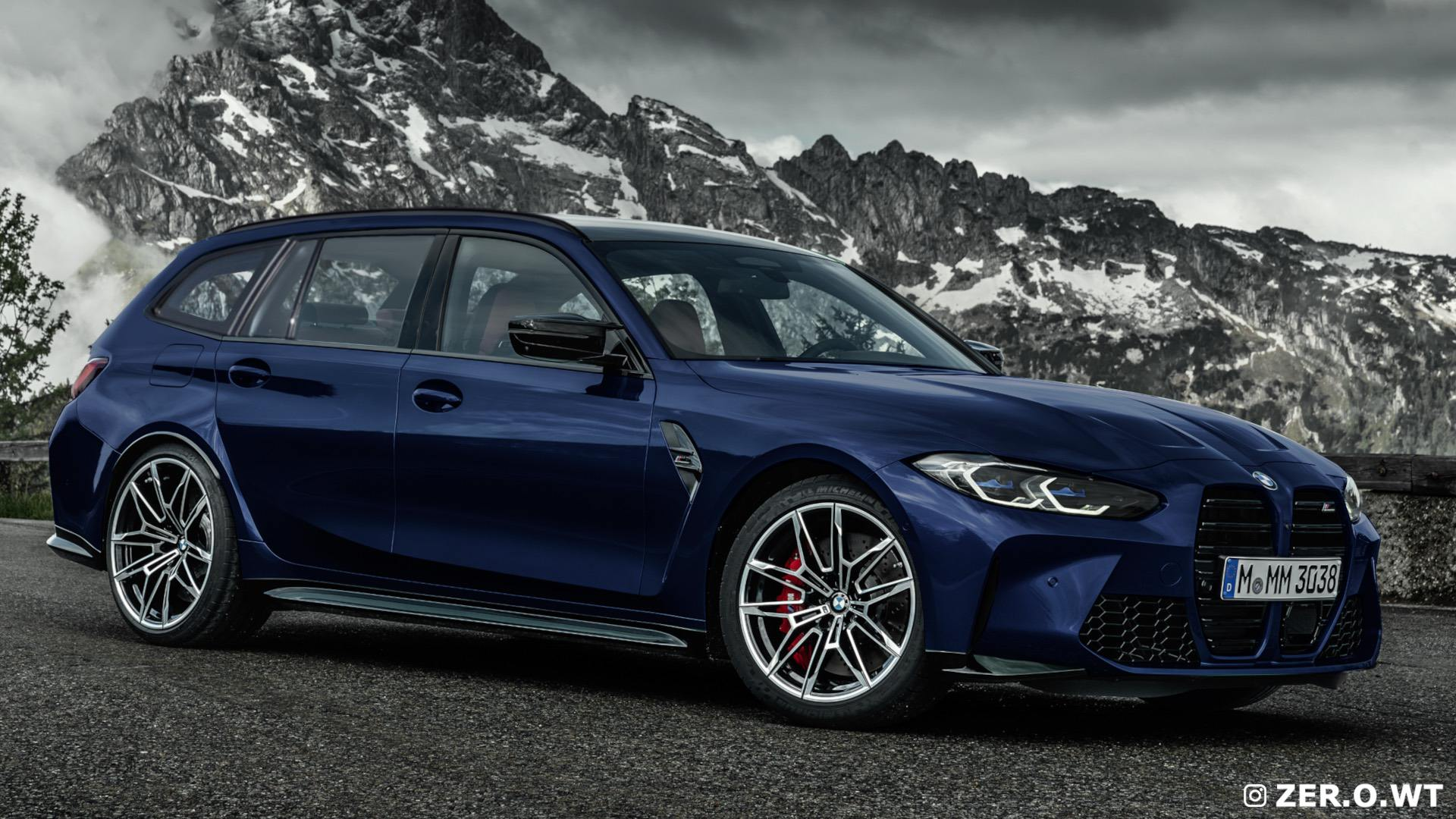 2025 bmw m3 touring renderings 19