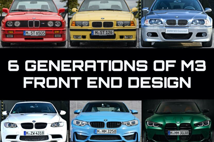 6 Generations M3 Front End Design 00 830x553