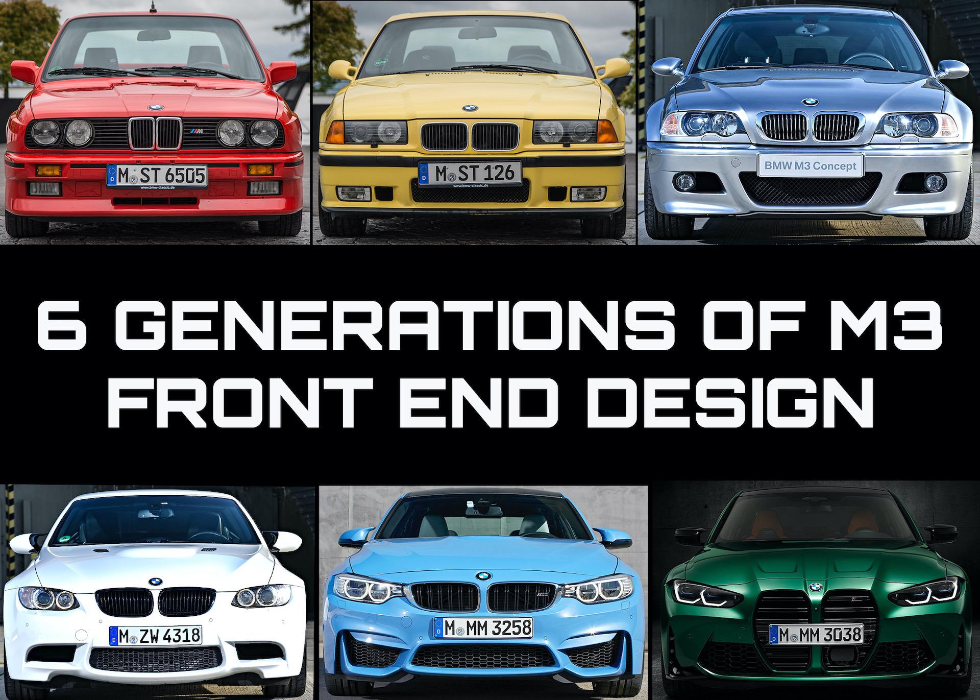 Editorial Bmw G80 G82 M3 And M4 An Exploration In Design