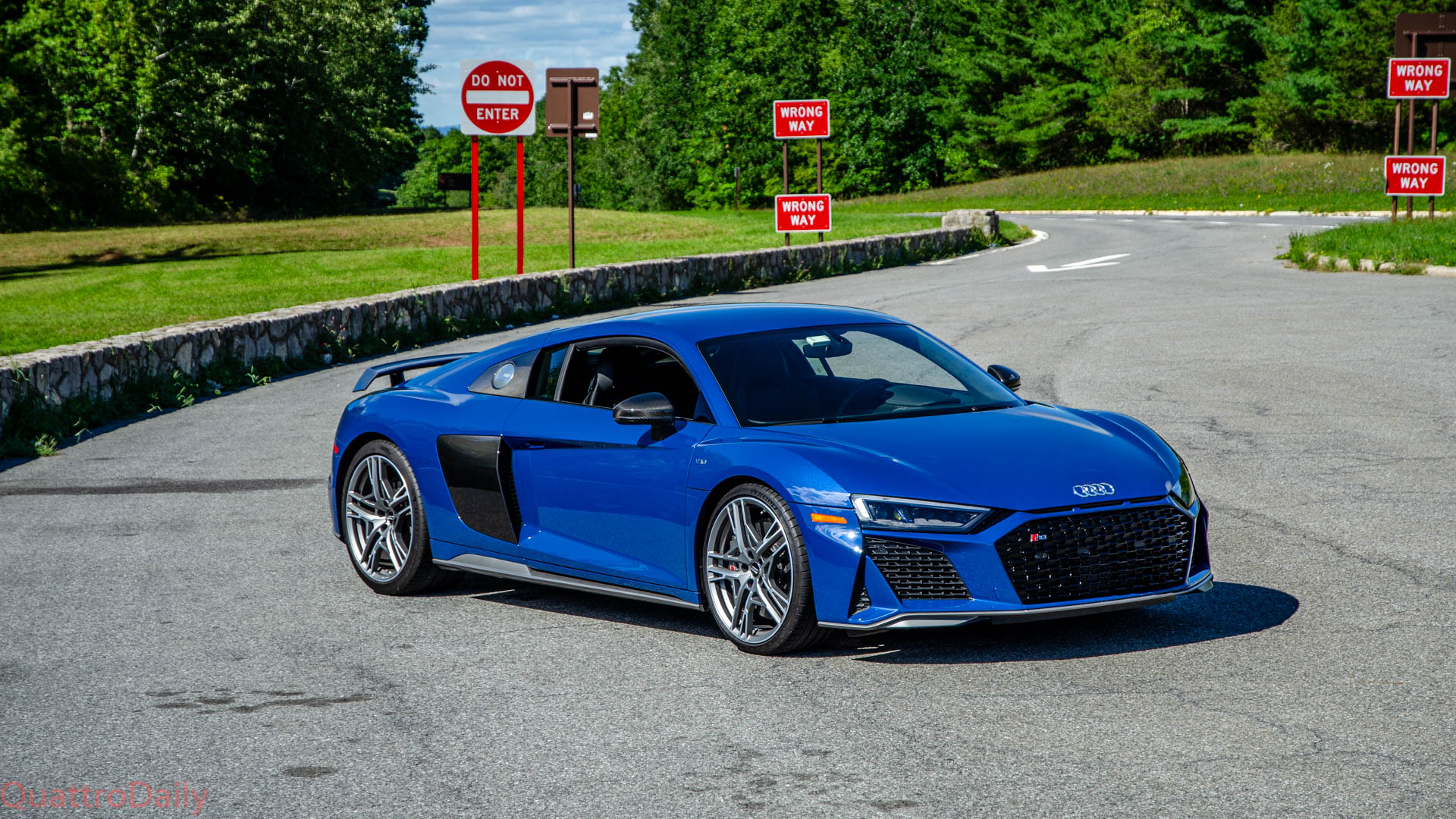 Test Drive 2020 Audi R8 V10 Performance