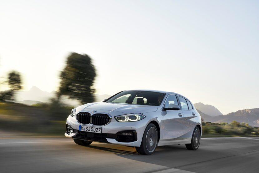 BMW 1 Series Autumn 2020 Update 1 830x554