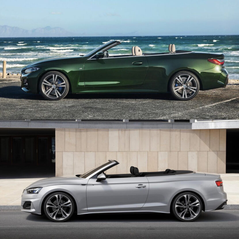 BMW 4 Series Convertible vs Audi A5 Cabriolet 3 of 4 830x830