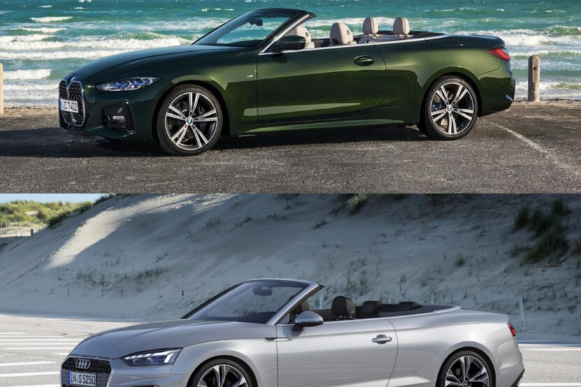 BMW 4 Series Convertible vs Audi A5 Cabriolet 4 of 4 830x553