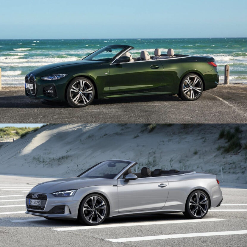 BMW 4 Series Convertible vs Audi A5 Cabriolet 4 of 4 830x830