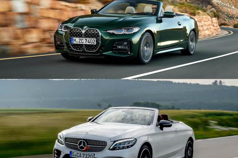 BMW 4 Series Convertible vs Mercedes Benz C Class Cabrio 1 2 830x553