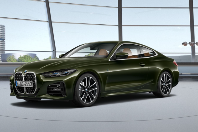 BMW 4 Series Coupe G22 featured in San Remo Green metallic 1 830x553