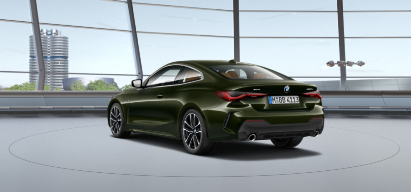 BMW 4 Series Coupe G22 featured in San Remo Green metallic 3 830x389