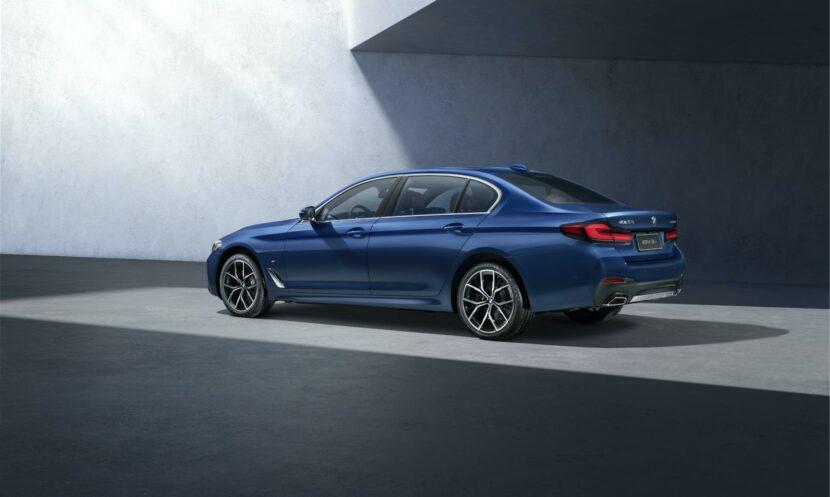 BMW 5 Series Facelift long wheel base 01 830x497