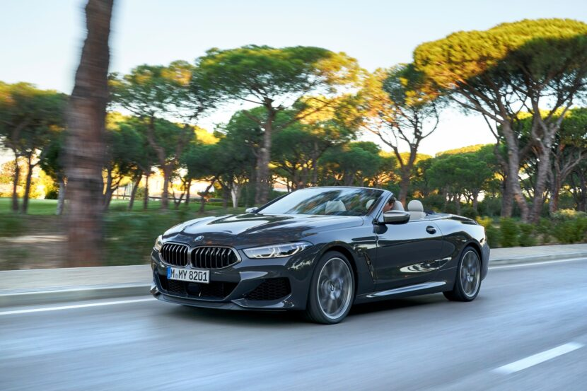 BMW 8 Series Convertible Autumn 2020 Update 830x553