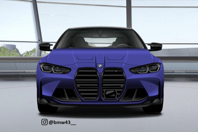 BMW M3 Render 4 830x553