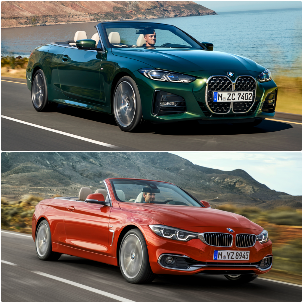2021 bmw 4 series convertible (g23): how does it compare