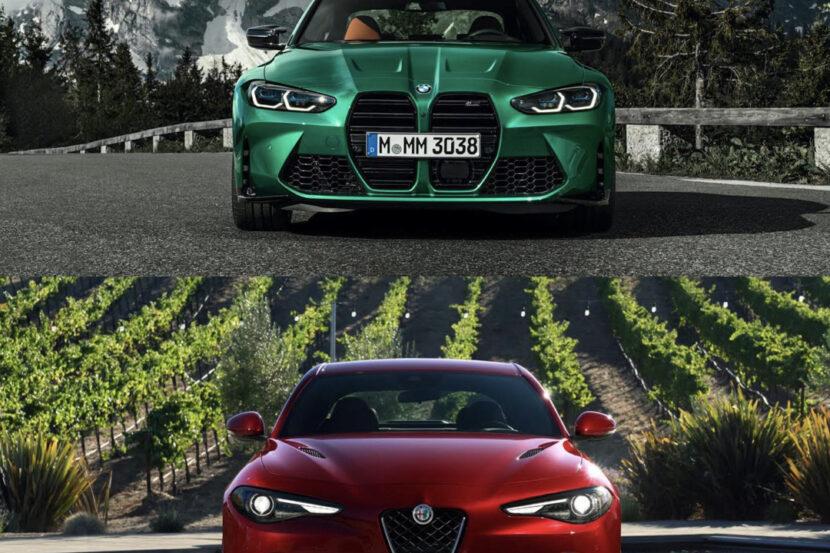 G80 BMW M3 vs Alfa Romeo Giulia Quadrifoglio 4 of 4 830x553