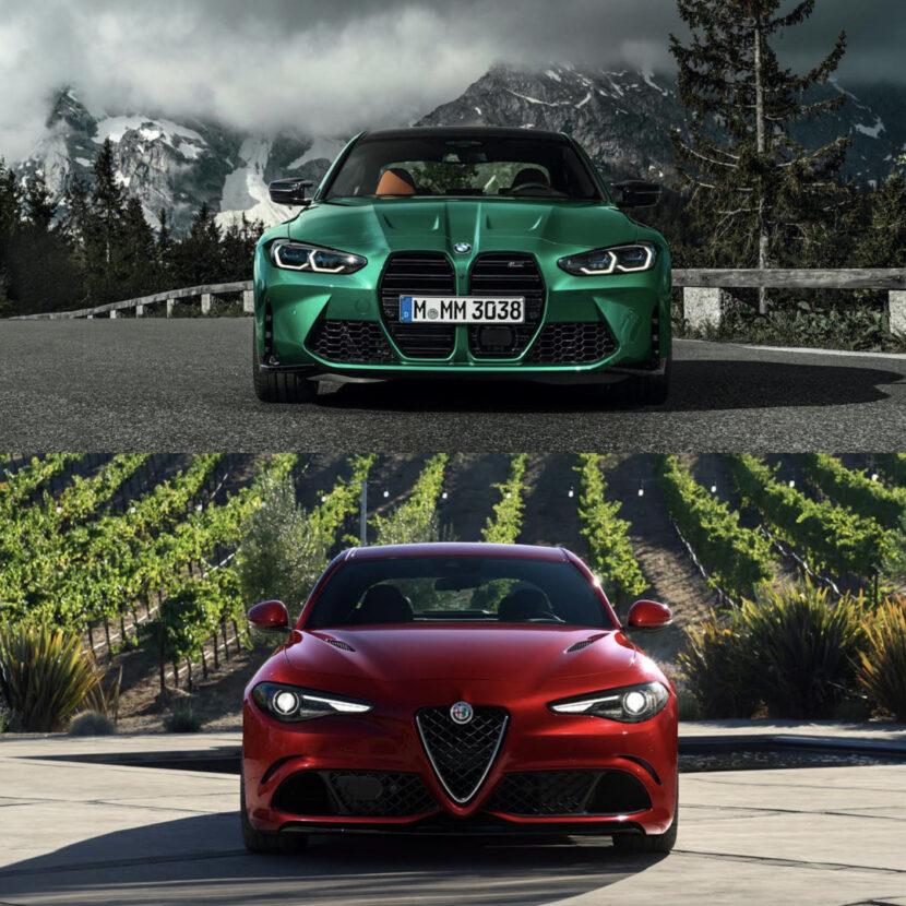 G80 BMW M3 vs Alfa Romeo Giulia Quadrifoglio 4 of 4 830x830