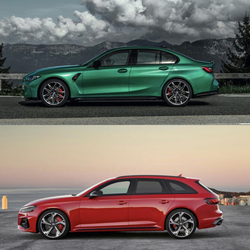 G80 BMW M3 vs Audi RS4 Avant 4 of 4 830x830
