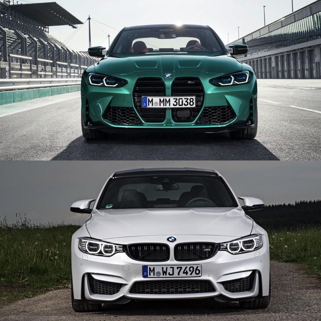 Photo Comparison G80 Bmw M3 Vs F80 Bmw M3 Is Newer Always Better