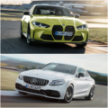 G82 BMW M4 vs. Mercedes AMG C63 Coupe 120x120
