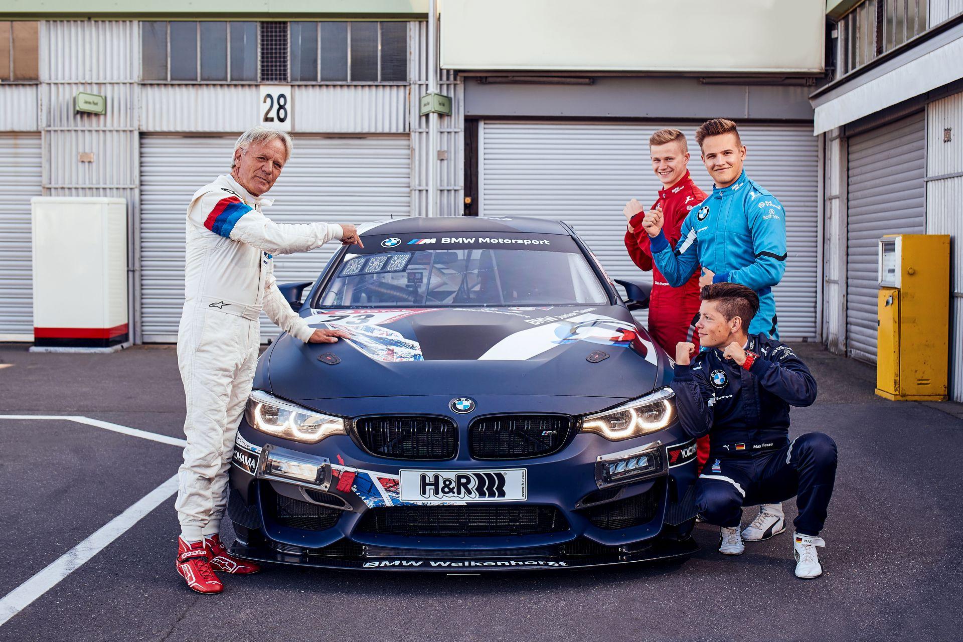 Marc surer vs BMW Junior Team 5