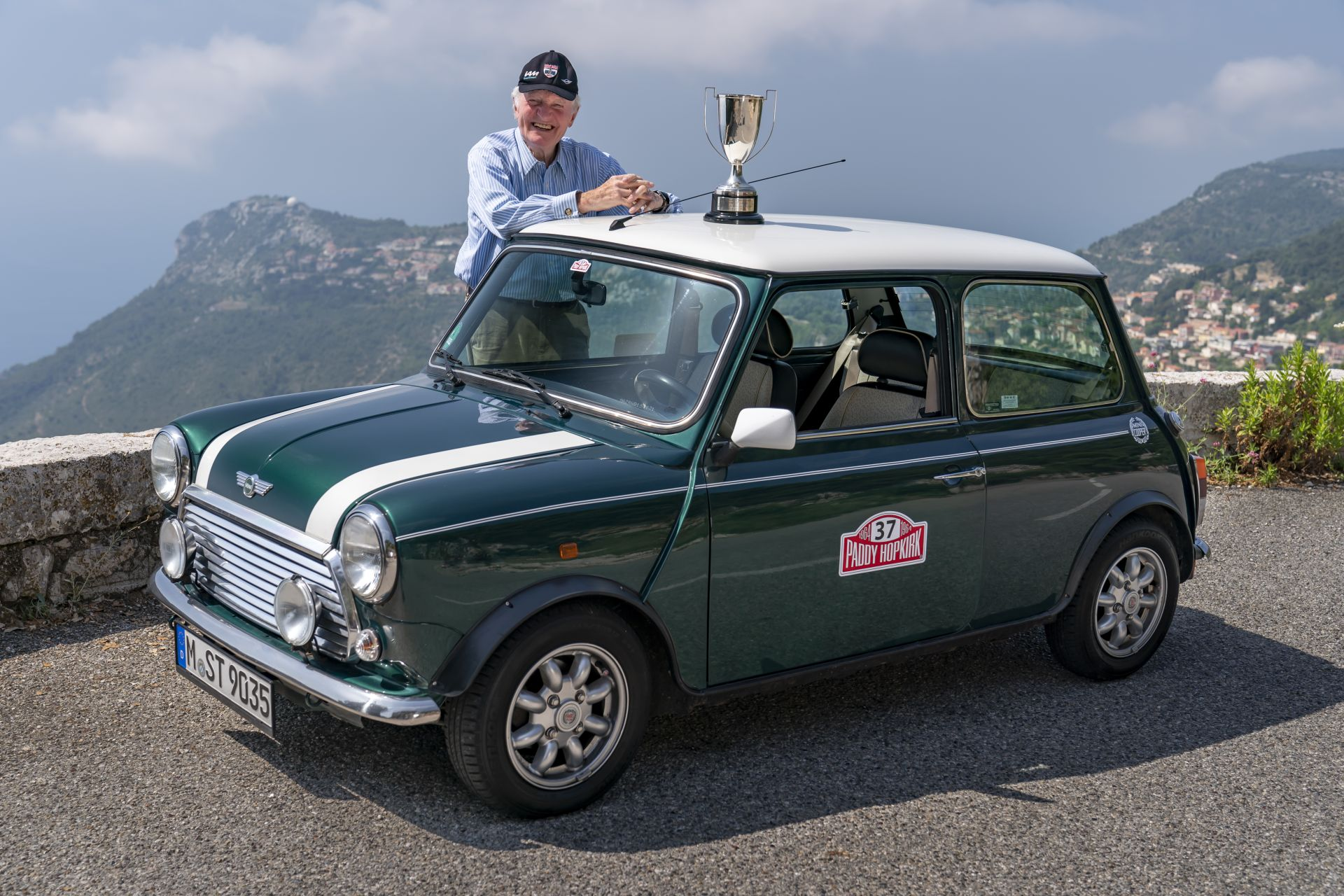 Paddy Hopkirk classic mini 1