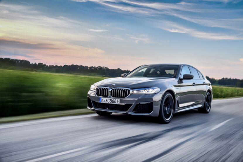 The new BMW 545e xDrive Sedan G30 LCI 2 830x553