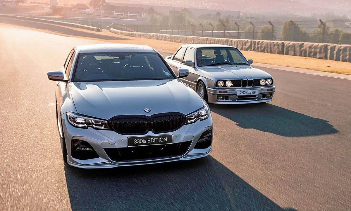 Bmw 330is Edition Pays Tribute To Bmw 325is In South Africa