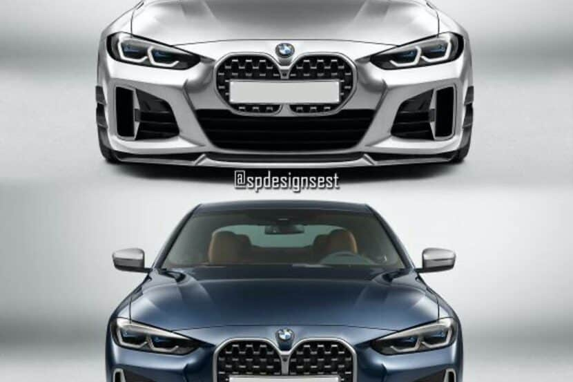 bmw 4 series small grille 00 830x553