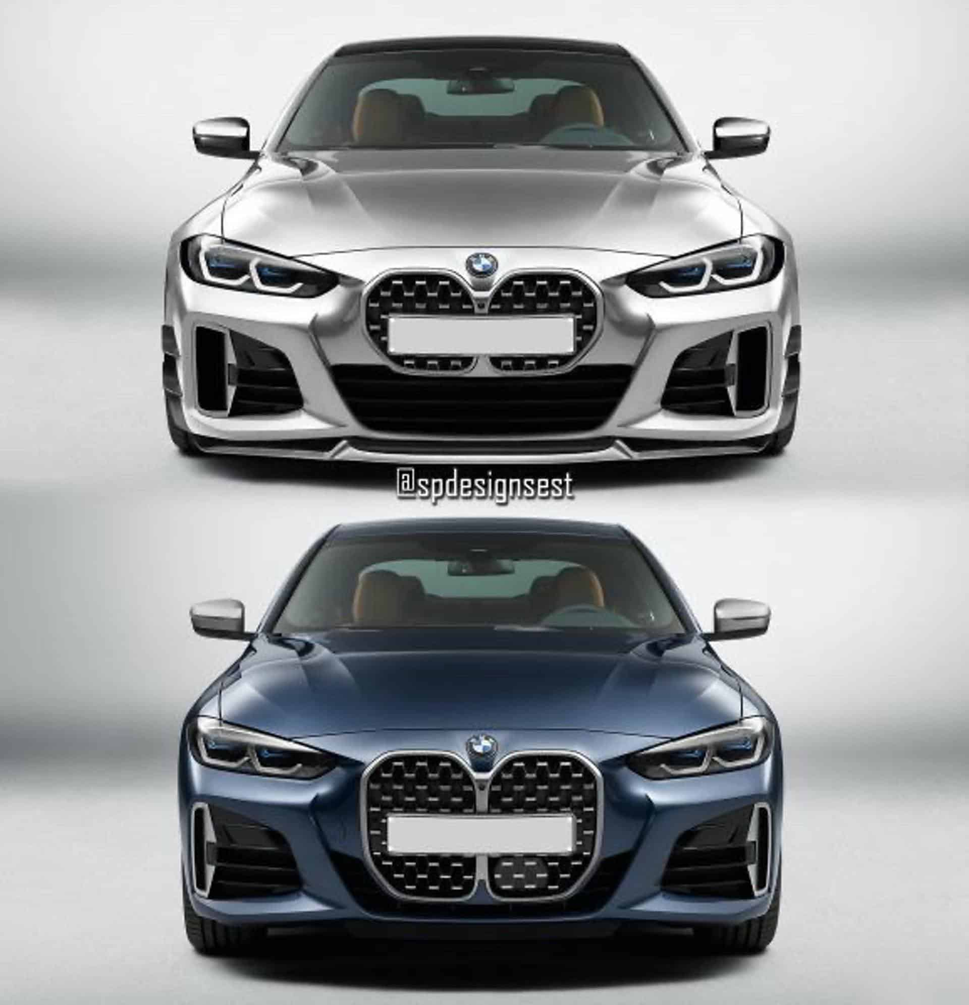 bmw 4 series small grille 00