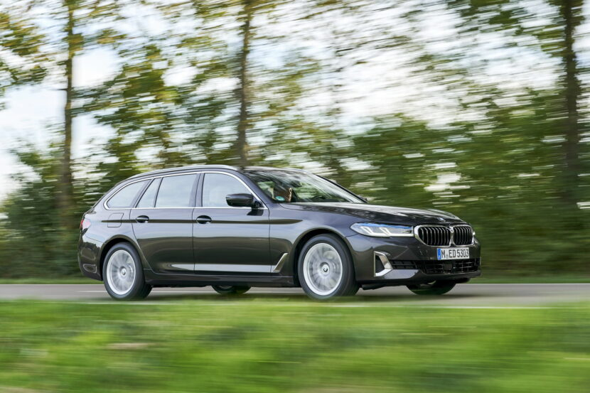 2021 bmw 530d xdrive touring lci - new photo gallery