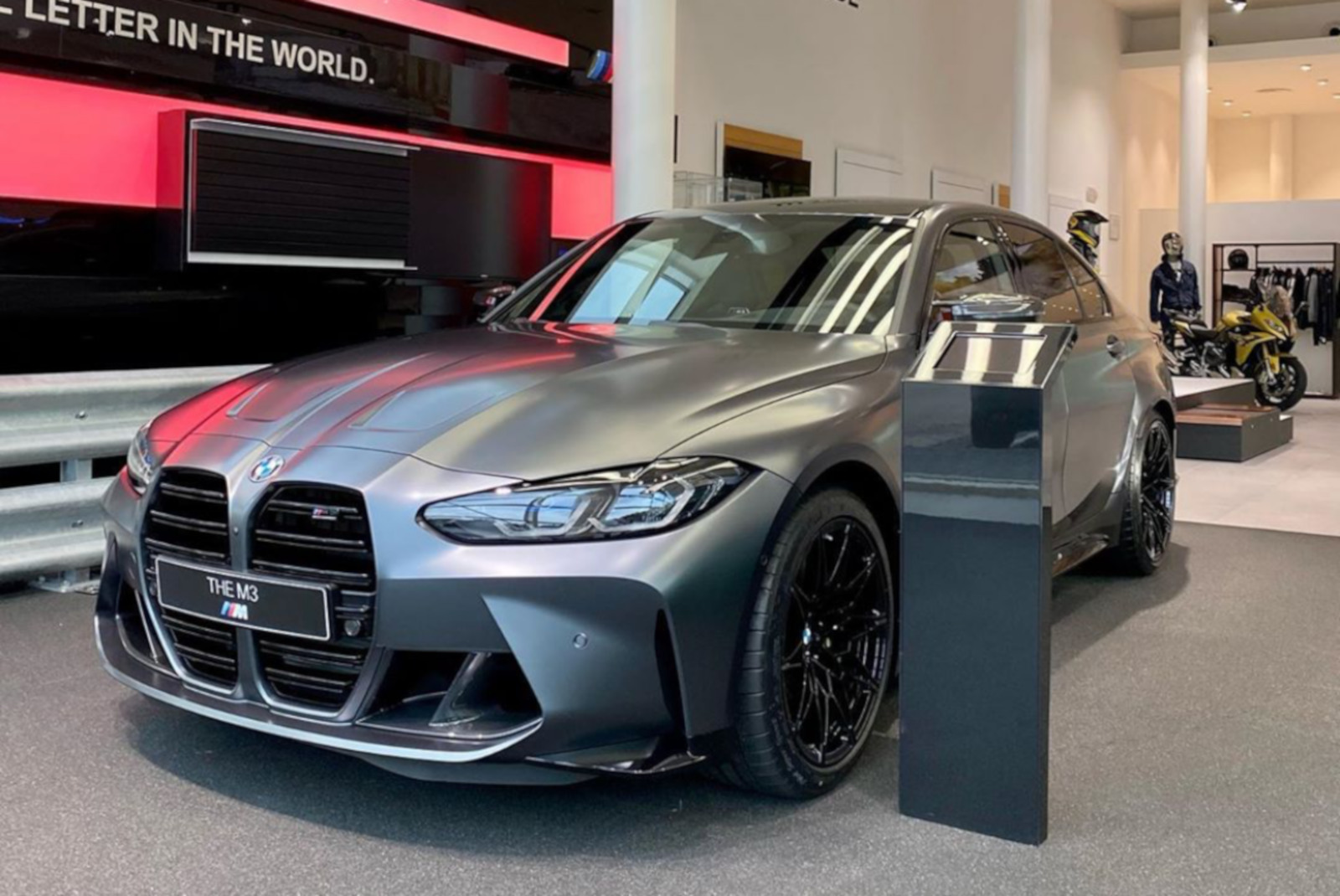 2021 BMW M3 G80 Frozen Dark Grey 1